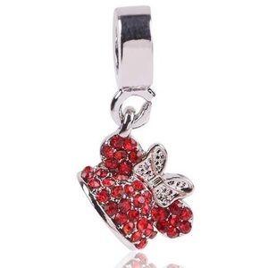 Jewelry - 925 Silver splayed Minnie Pendant Charm